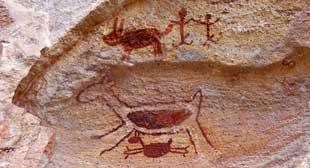 Capivara - A arte rupestre no sul do Piauí